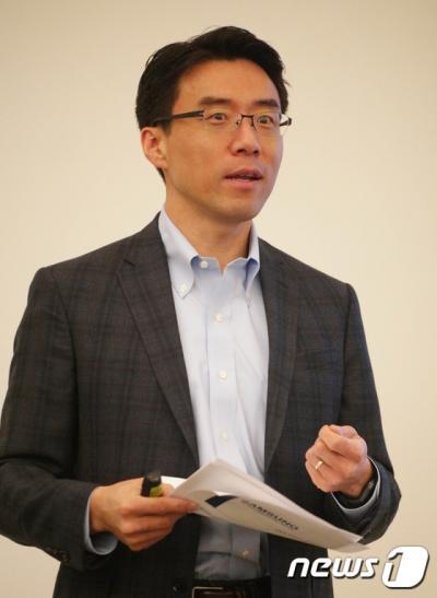 '데이비드 은' 데이비드 은 삼성 글로벌이노베이션센터(GIC) 사장. /자료사진=뉴스1