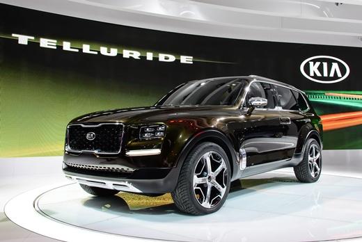 기아차, 디트로이트모터쇼서 SUV 콘셉트 '텔루라이드' 최초 공개