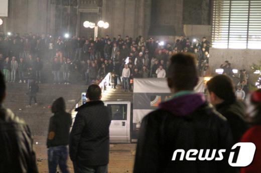 지난해 12월31일 폭행, 절도 등 대규모 사건이 벌어진 독일 쾰른. /사진=뉴스1(AFP 제공)