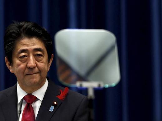 아베 신조 일본 총리 /사진=머니투데이(로이터 제공)