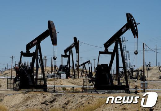 '국제유가' 미국 캘리포니아주 유전지대. /사진=뉴스1(AFP 제공)