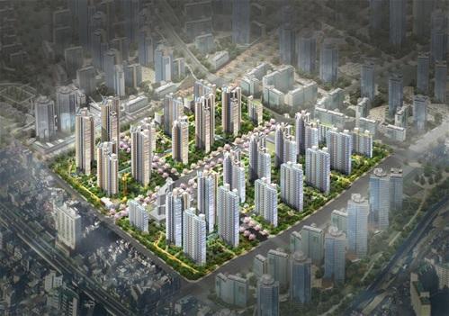 장위4구역 주택재개발정비사업 조감도. 사진제공=서울시