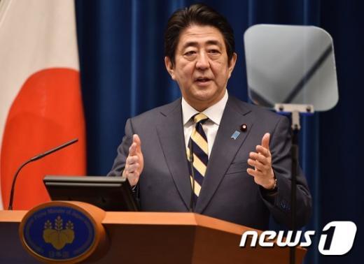 아베 신조 일본 총리. /사진=뉴스1(AFP 제공)