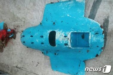 지난 2014년 백령도에서 발견된 북한 무인기 잔해. 사진은 기사 내용과 무관. /사진=뉴스1(합동참모본부 제공)