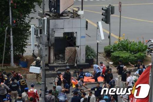 '자카르타 테러' /사진=뉴스1(AFP제공)
