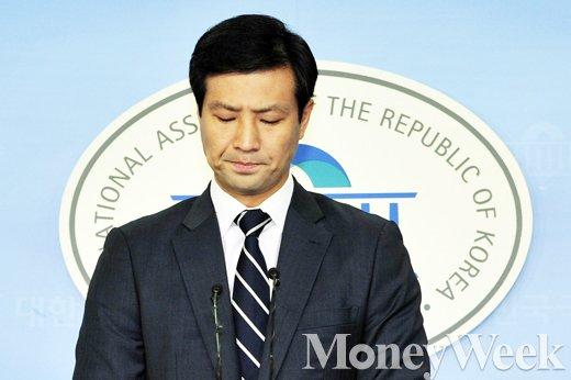 """[MW사진] 총선 불출마 선언 문대성, 한달만에 """"출마하겠다"""""""