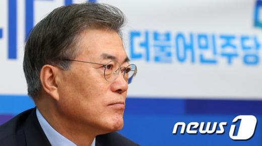 더불어민주당 문재인 대표. /사진=뉴스1