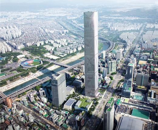 삼성동에 지어질 글로벌비즈니스센터(GBC)조감도. /사진=서울시 제공