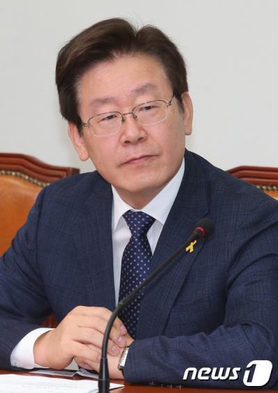 '이재명 성남시장' /자료사진=뉴스1