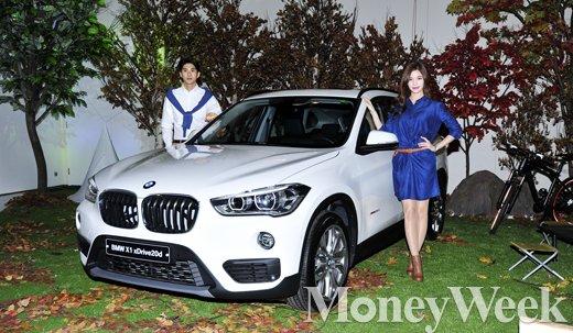 [MW사진] BMW 뉴 X1 출시, '드라이빙의 즐거움 느껴보세요'