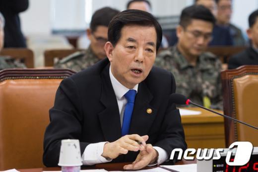한민구 국방부 장관. /자료사진=뉴스1