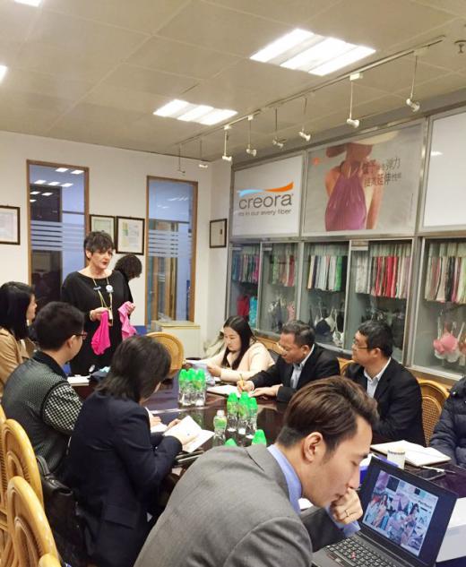 효성은 지난 7일부터 18일까지 중국, 대만, 홍콩 3개국을 방문해 ' 크레오라 워크숍'을 진행했다. /사진=효성 제공
