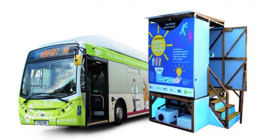 bio-bus, 소변으로 전기 발전하는 소변기