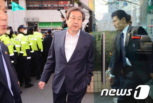 새누리당 김무성 대표가 오늘(25일) 서울 여의도 당사에서 열린 최고위 회의를 마친 후 차량으로 이동하고 있다. /사진=뉴스1 박세연 기자