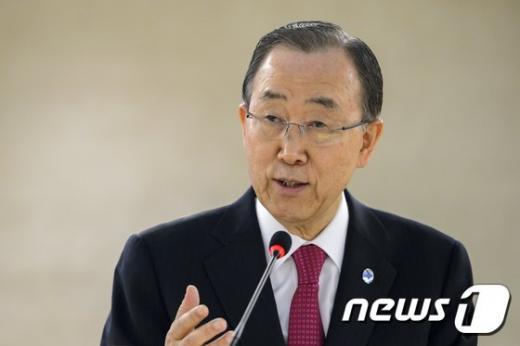 반기문 유엔 사무총장. /자료사진=뉴스1(AFP 제공)