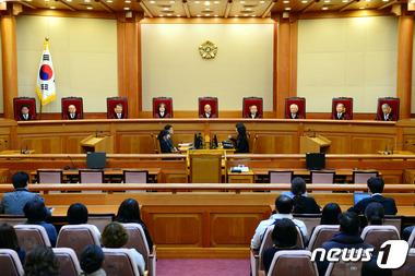헌법재판소 대심판정. /자료사진=뉴스1