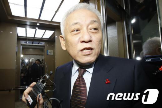 국민의당 김한길 의원. /자료사진=뉴스1