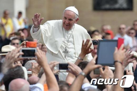프란치스코 교황. /자료사진=뉴스1