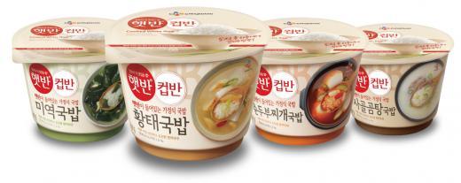 햇반 컵반, 출시 1년 만에 '국민 간편식' 등극… 1200만개 판매 돌파