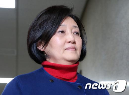 4·13총선 서울 구로을에서 4선 고지에 오른 더불어민주당 박영선 의원. /자료사진=뉴스1
