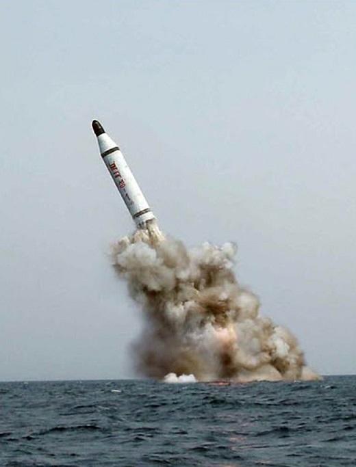 '북한 slbm'(노동신문)./사진=뉴스1DB
