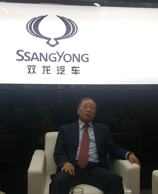 """[2016 베이징모터쇼] 최종식 쌍용차 사장 """"중국공략, 치밀한 연구 필요하다"""""""