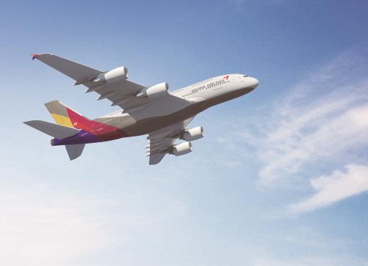 아시아나 A380 /사진=아시아나항공 제공