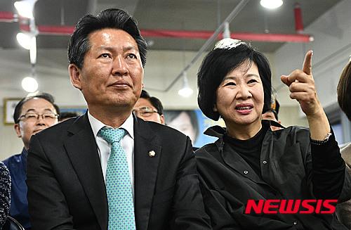 손혜원 홍보위원장 발언을 정청래 의원이 지지하고 나섰다. /자료사진=뉴시스