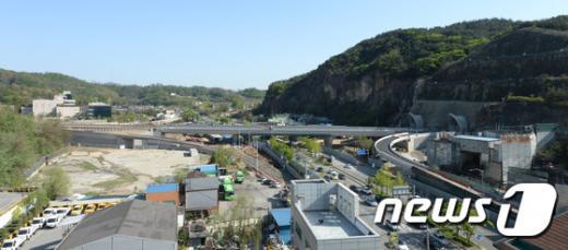 강남순환도로. 서울 강남 순환 도시고속도로 관악산터널에서 우면산터널 양방향 구간. /사진=뉴스1