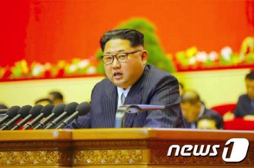 김정은 노동당 위원장. /자료사진=뉴스1