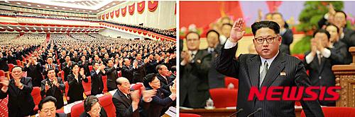 김정은이 노동당 위원장으로 추대된 가운데 복잡한 직위체계로 혼선이 빚어질 수 있게 됐다. /자료사진=뉴시스