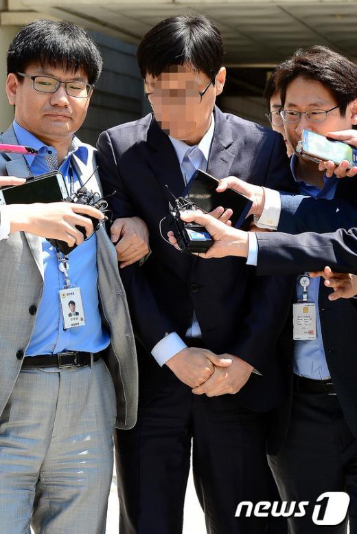 세퓨 제조사 오 전 대표가 오늘(13일) 오후 서울 서초동 서울중앙지방법원에서 영장실질심사를 받았다. /사진=뉴스1