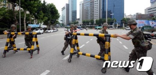 민방위 훈련이 오늘(16일) 전국적으로 실시된다. 지난해 8월 실시된 민방위 훈련. /자료사진=뉴스1