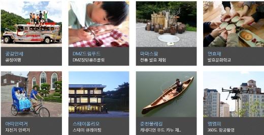 창조관광기업들이 여행박람회서 마케팅을 펼친다. /사진=공사 창조관광사업 홈페이지