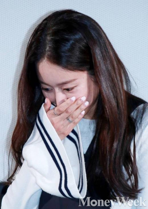 ▲tvN '또 오해영' 시사회 참석한 전혜빈/사진=머니투데이 김창현 기자