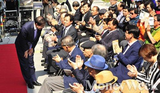 [MW사진] 근현대사기념관 개관식 참석한 박원순 시장