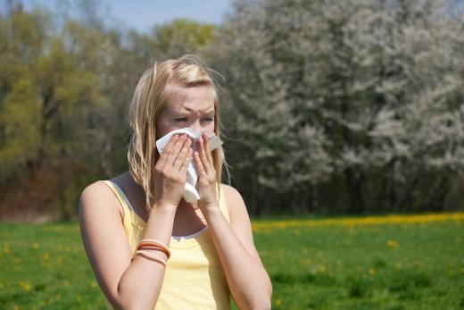 꽃가루 알레르기 예방. /자료사진=이미지투데이