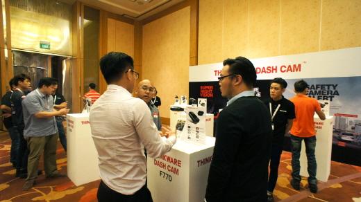 팅크웨어가 싱가포르 딜러를 대상으로 콘퍼런스를 열었다 /사진=팅크웨어 제공