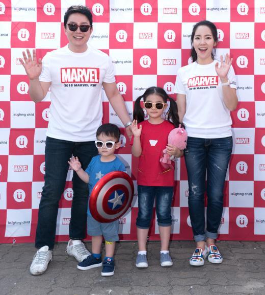 래핑차일드,'2016 마블런' 메인 스폰서로 참여…이범수 가족 등 참가