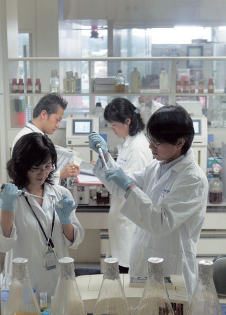 한미약품 연구센터. /사진제공=한미약품