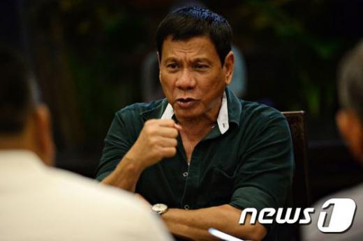 로드리고 두테르테 필리핀 대통령 당선인. /자료사진=뉴스1