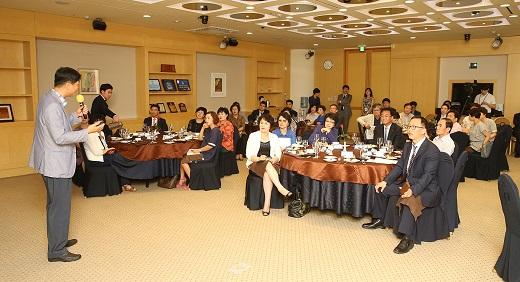 DGB생명은 15일 마포 서울가든호텔에서 VIP고객을 위한 '사례중심의 상속·증여·가업승계' 세미나를 개최했다. /사진=DGB생명