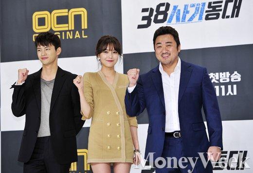 [MW사진] 악덕 체납자들 게섯거라, 금토드라마 '38사기동대' 밤 11시 방송