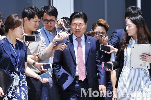 홍문장 국기원 이사장(새누리당 국회의원)의 임기가 16일 만료된다. /자료사진=임한별 기자
