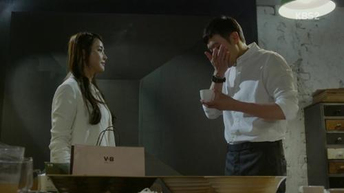'국수의 신' 정유미, 천정명 건강 걱정하는 모습 애틋해