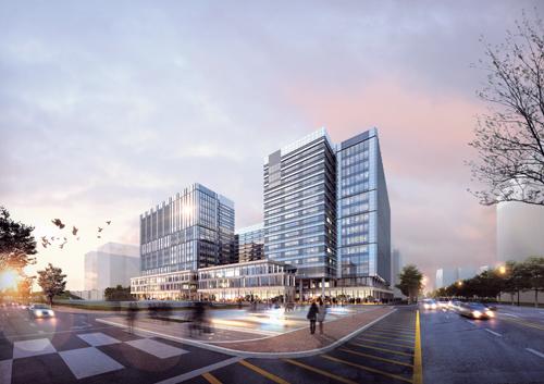 현대건설이 시공한 지식산업센터. /사진=머니투데이 DB