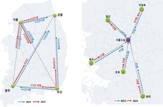 국가철도망 구추계획. /자료제공=국토교통부