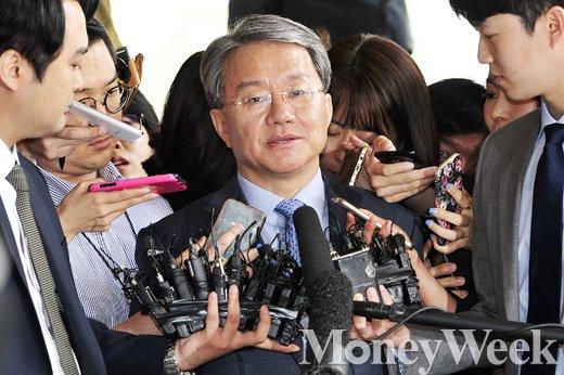 홍만표 구속기소. /자료사진=임한별 기자