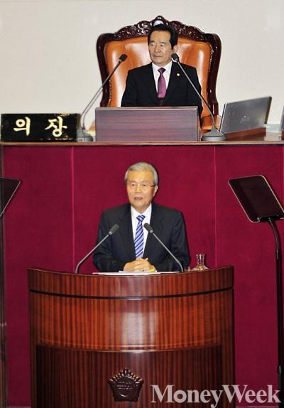재벌 3세. 김종인 더불어민주당 비상대책위원회 대표. /자료사진=임한별 기자