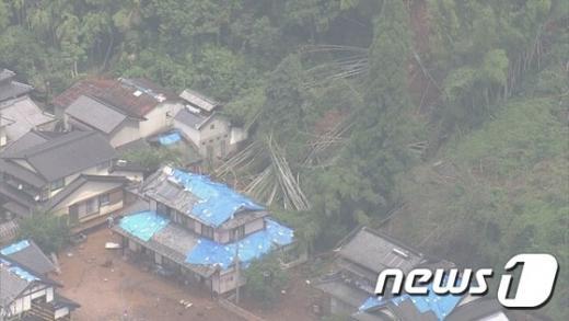 일본 폭우. /자료사진=뉴스1